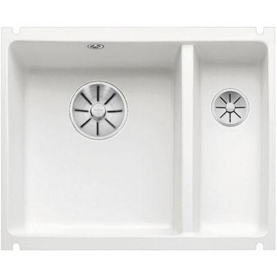 Blanco Subline 350/150-U zlewozmywak ceramiczny 56,7x45,6 cm PuraPlus lewy biały połysk 523741