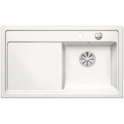 Blanco Zenar 45 S zlewozmywak ceramiczny 86x51 cm PuraPlus prawy biały połysk 524151