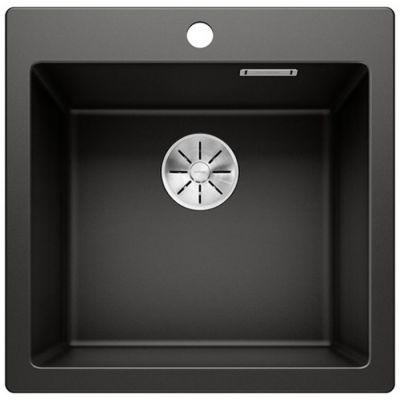 Blanco Pleon 5 zlewozmywak 51,5x51 cm z Silgranit PuraDur czarny 525951