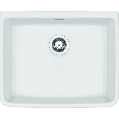 Deante Sabor zlewozmywak ceramiczny 59,5x47,5 cm biały ZCB610K