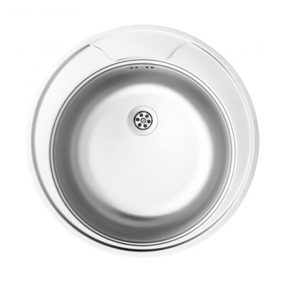Deante Twist zlewozmywak stalowy 1-komorowy okrągły satyna ZEU0810