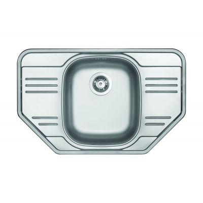 Deante Xylo zlewozywak stalowy 1-komorowy dekor ZEX3613
