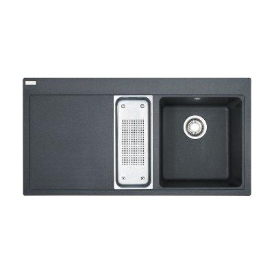 Franke Mythos MTG 651-100 zlewozmywak 100x51,5 cm z Fragranitu+ grafitowy 114.0063.945