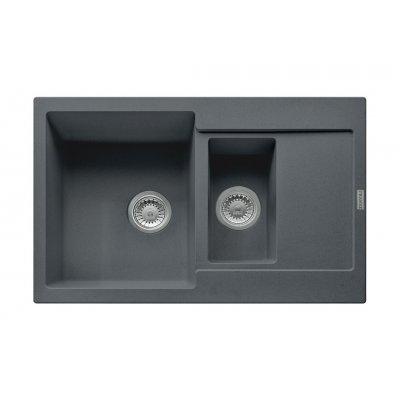 Franke Maris MRG 651-78 zlewozmywak 78x50 cm z Fragranitu+ grafitowy 114.0201.527