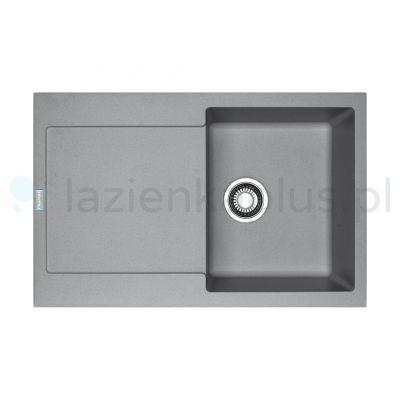 Franke Maris MRG 611 zlewozmywak 78x50 cm z Fragranitu+ kamienny szary 114.0330.919