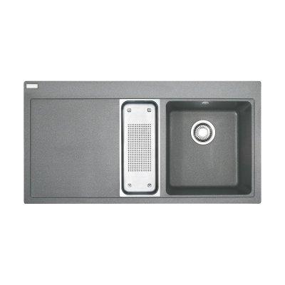 Franke Mythos MTG 651-100 zlewozmywak 100x51,5 cm z Fragraniu+ kamienny szary 114.0330.985