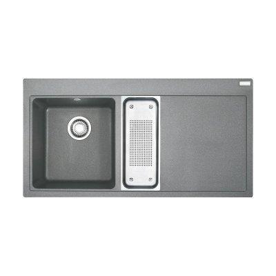 Franke Mythos MTG 651-100 zlewozmywak 100x51,5 cm z Fragranitu+ kamienny szary 114.0330.986