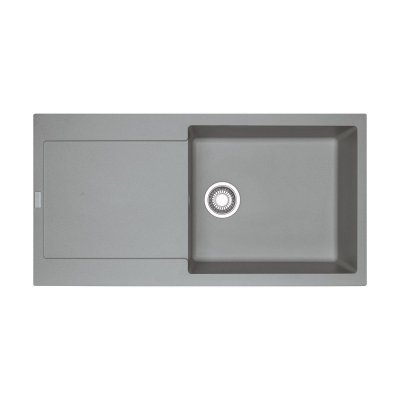 Franke Maris MRG 611-97 XL zlewozmywak 97x50 cm z Fragranitu+ kamienny szary 114.0367.734