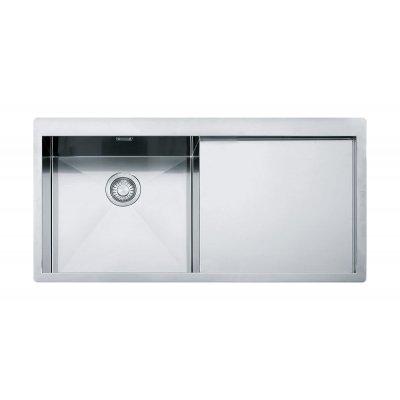 Franke Planar PPX 211 zlewozmywak stalowy 100x51,2 cm lewy jedwab 127.0203.464