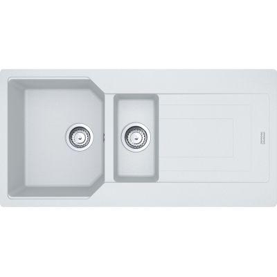 Franke Urban UBG 651-100 zlewozmywak 100x50 cm z Fragranitu+ biały polarny 114.0575.051