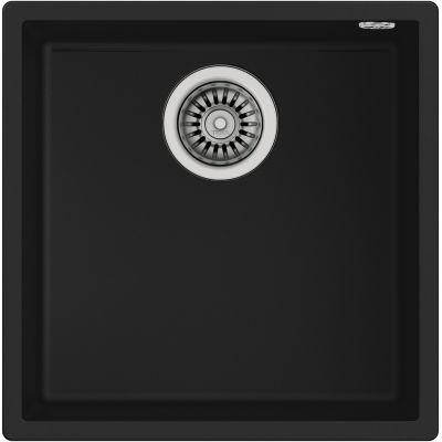 Teka Square 40.40 TG zlewozmywak 44x44 cm Tegranit czarny 115230025