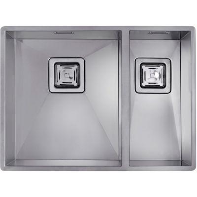 Teka Square 340/400 & 180/400  zlewozmywak 57,5x43 cm podwieszany stal stynowana 40170180