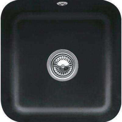 Villeroy & Boch Cisterna 50 zlewozmywak ceramiczny 39x39 cm  CeramicPlus Ebony 670301S5