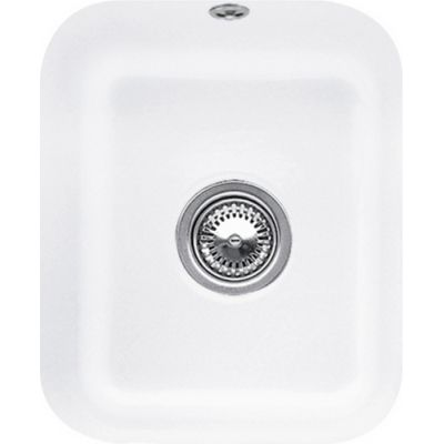 Villeroy & Boch Cisterna 45 zlewozmywak ceramiczny 32,5x39 cm CeramicPlus Stone White 670401RW