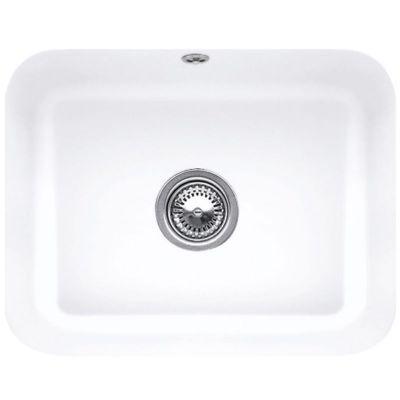 Villeroy & Boch Cisterna zlewozmywak ceramiczny 50x39 cm CeramicPlus Snow White Glassy 670601KG