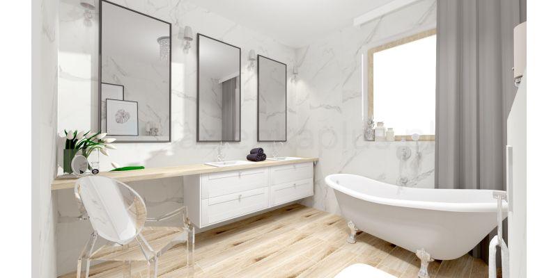 Indywidualny projekt łazienki