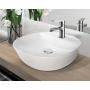 Invena Esla słuchawka prysznicowa chrom/biały AS-94-001