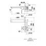KFA Armatura Mokait bateria umywalkowa podtynkowa chrom 5539-810-00