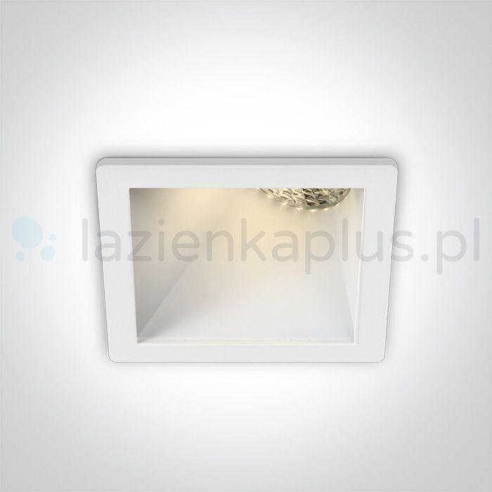 One Light Bevera lampa do zabudowy 1x10W biała 50105MA/W/W