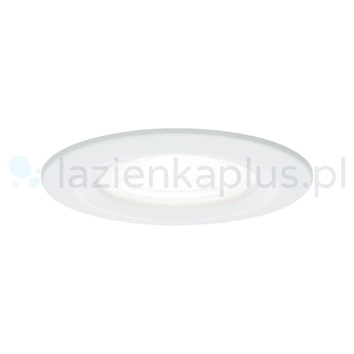 Paulmann Nova lampa do zabudowy 1x6,5W biały mat 92982