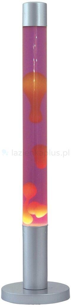 Rabalux Dovce lampa stołowa 1x40W srebrny/pomarańczowy/fioletowy 4112