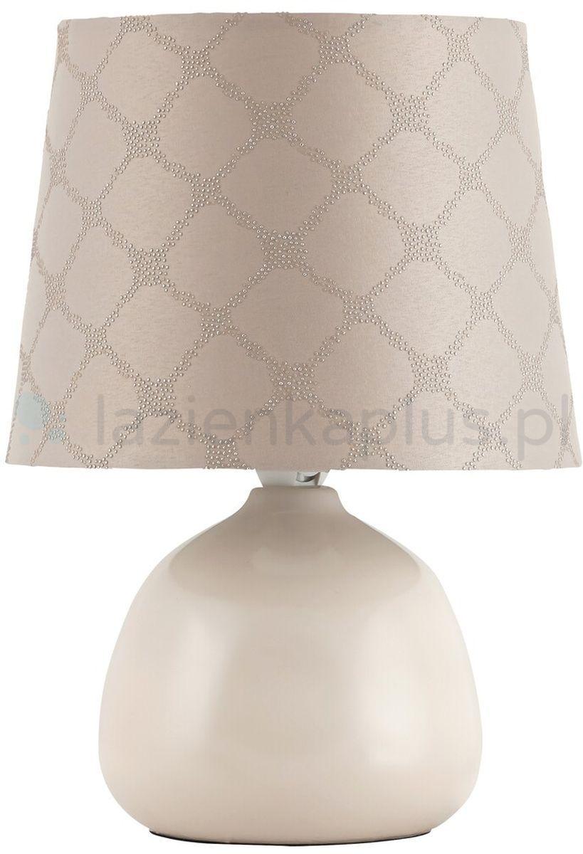 Rabalux Ellie lampa stołowa 1x40W beżowa 4380