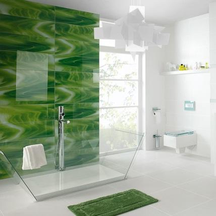 Płytki łazienkowe Paradyż Dekoracje szklane