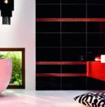 Płytki łazienkowe Tubądzin Colour White&Black